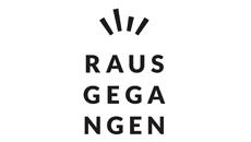 Logo Rausgegangen